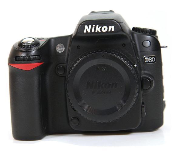 Nikon D80 Camera Body.