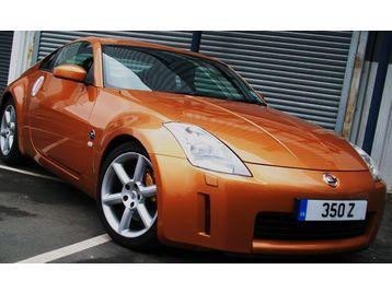 NISSAN 350Z 2004 GT **stunning Sunset Orange,Black