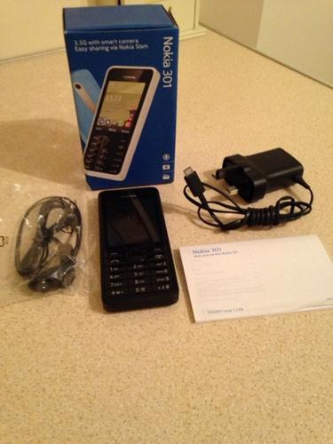Nokia 301 Mobile Phone