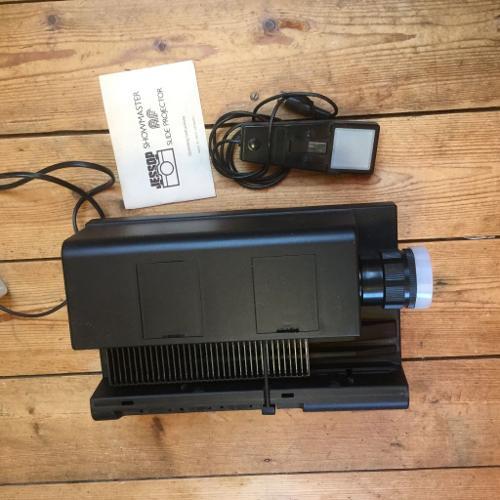 Nostalgia for 35mm? Jessops slide projector.