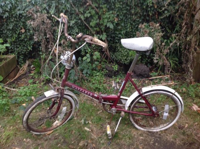 Original Vintage bike Wayfarer