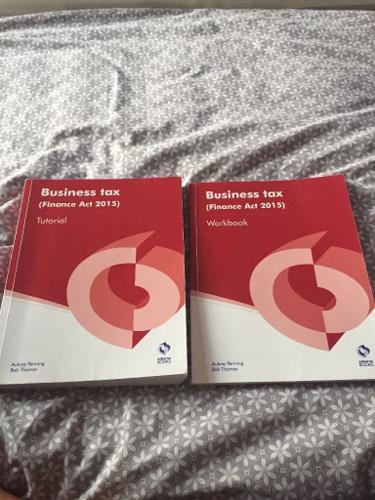 Osbourne business tax books
