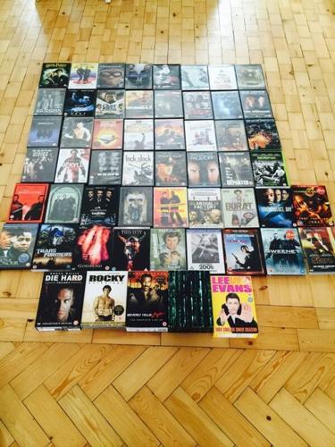 Over 60 ORIGINAL DVDs