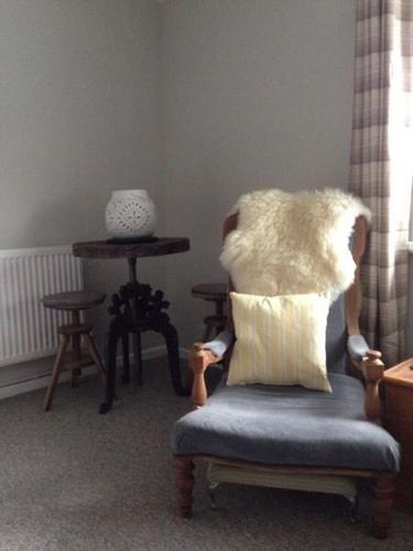 Pair of armchairs, Victorian, mahogany