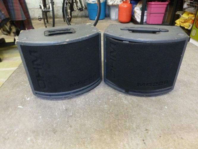 Pair of MR228 Speakers,