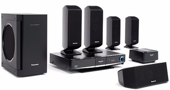 Panasonic SC-BT100 Blue-Ray Home Theater Sound System &