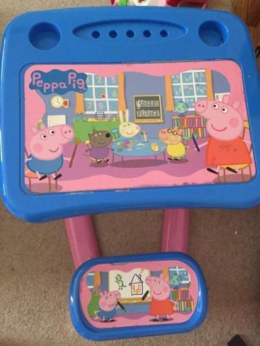 Peppa pig desk