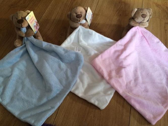 Personalised bear comforters