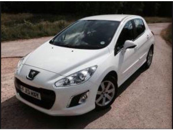 Peugeot White 308