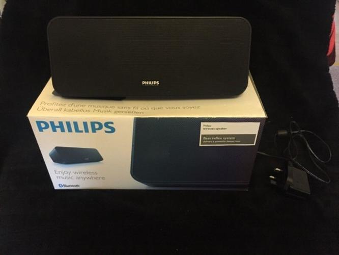 Philips bluetooth speaker.