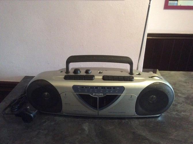 Phillips AW7150/05S Stereo Radio Cassette Recorder