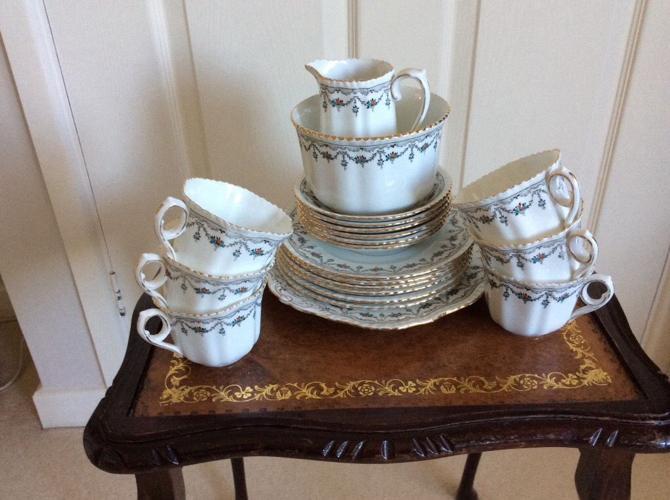 Phoenix China 6 piece tea set