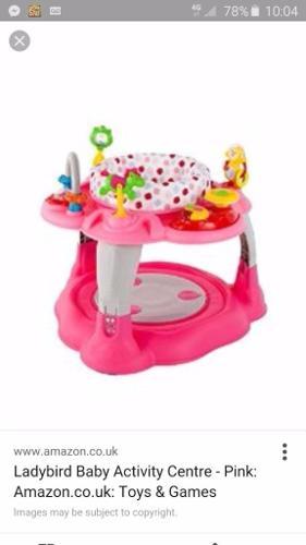 Pink ladybird play centre