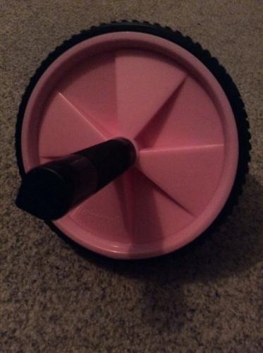 Pink roller