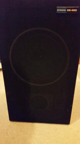 pioneer speaker vintage/retro