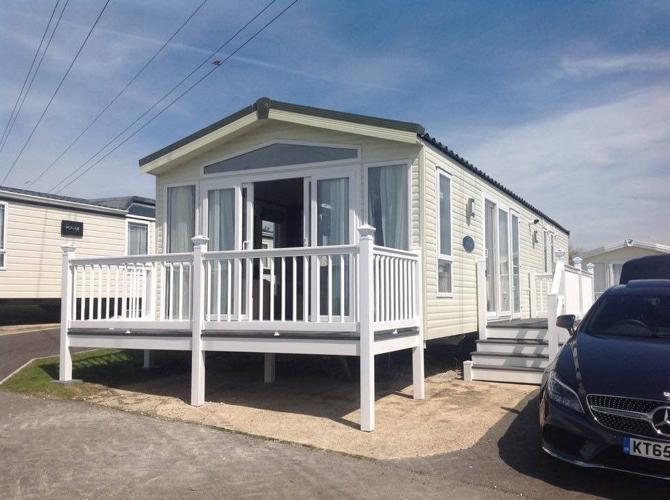 Platinum Sea View 2 bedroom (6 berth) caravan Haven,