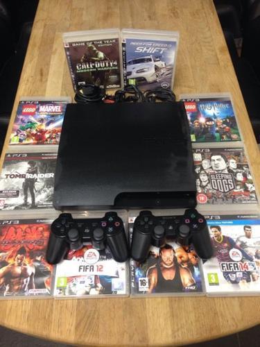 Playstation 3 Slimline 160Gb Bundle 10 Games 2