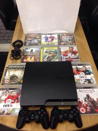 Playstation 3 Slimline 320Gb Bundle 10 Top Games 2