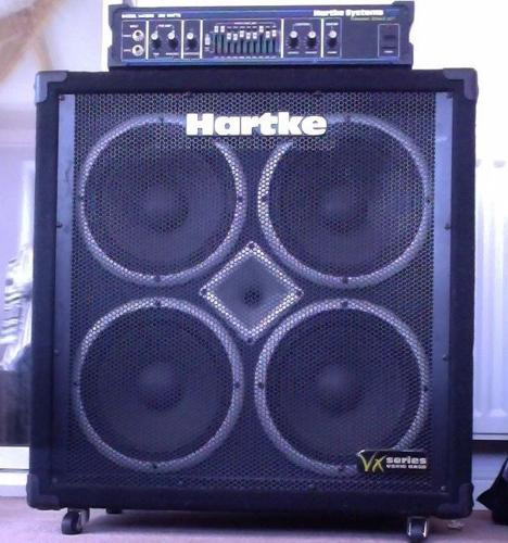 PRICE DROP! Hartke HA3500 bass head and Hartke VX410