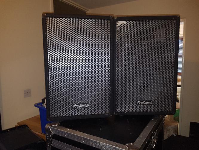 prosound 400w speakers