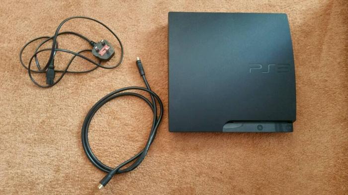 PS3 Slim 120gb + extras