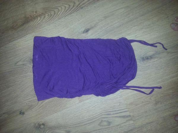 Purple Boobtube Top Size 8-10