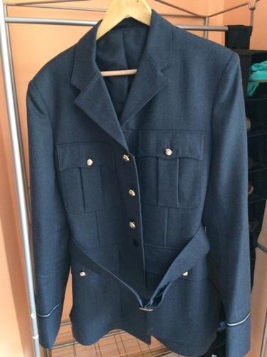 RAF Men's Number 1 Jacket (No.1) Officers Uniform with