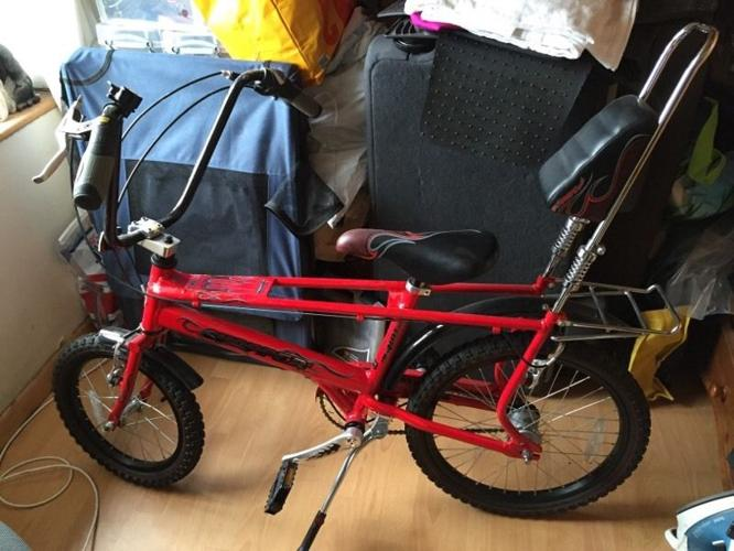 Raleigh Chopper bike cycle never used