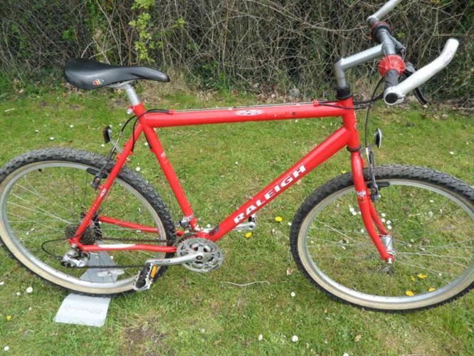Raleigh USA Cromo Max Steel Retro Mountain Bike Shimano