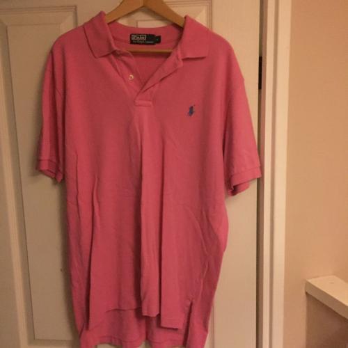 Ralph Lauren Polo Pink Polo neck shirt