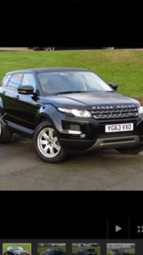 Range Rover evouque