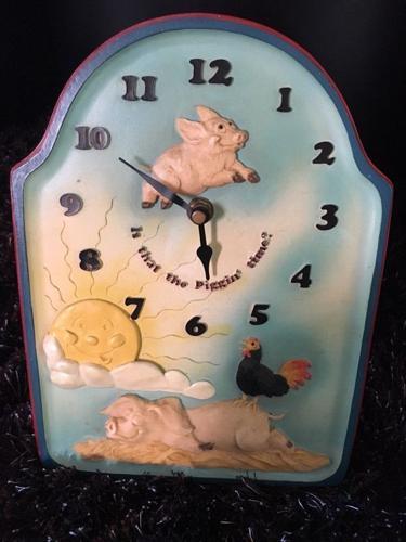 RARE David Corbridge PIGGIN' PIGGIN' TIME Pottery