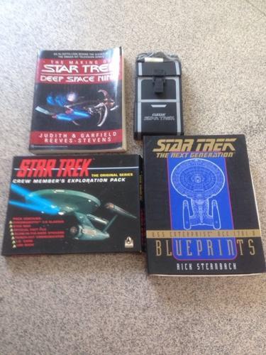 Rare Star Trek job lot
