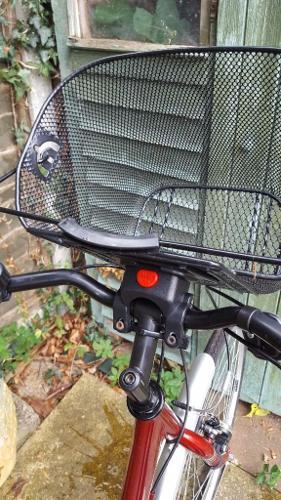 Red Ladies Bike -Step Through
