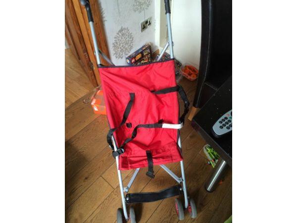 Red Stroller / Buggy