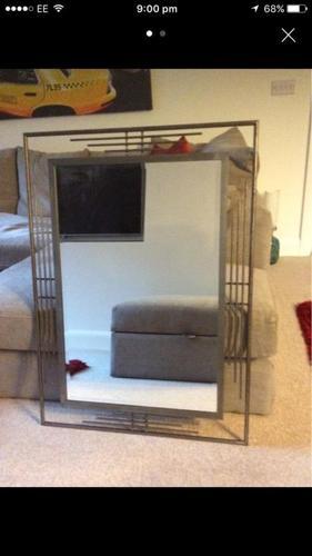 ***REDUCED*** Modern Stainless Steel Mirror