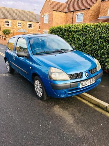 Renault Clio, 1.2, 2003, 5 Months Mot, 120k, Good