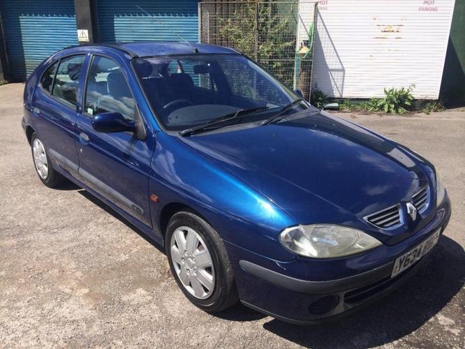 Renault Megane Expression 1.6i, 2001/Y Reg, MOT 30th