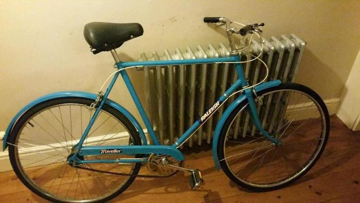 Retro Raleigh Traveller bike