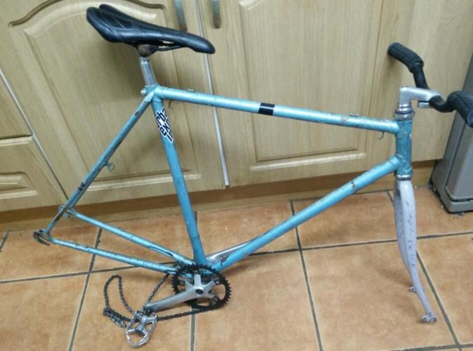 Retro Road race bike frame