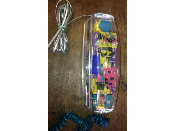Retro see through light phone collectors item