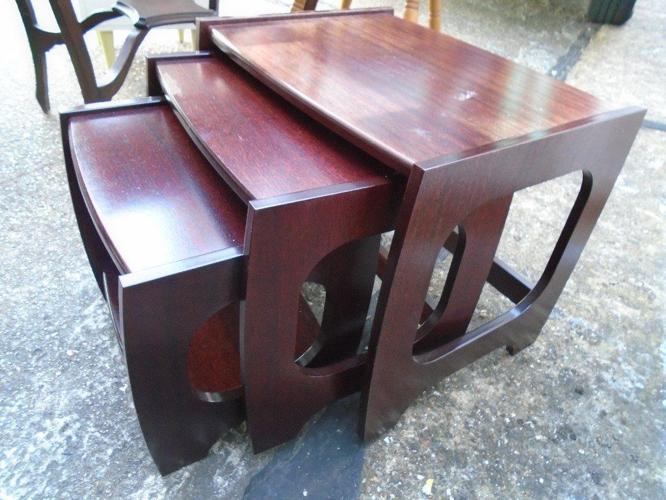 Retro style nest of tables
