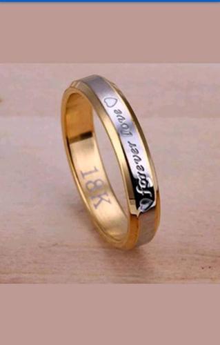 Ring titanium size r