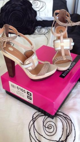 River Island Shoes Size 4