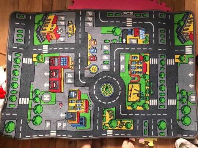 Road/Town Playmat