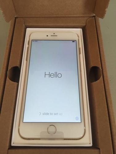 (Rose Gold) - Apple iPhone 6 Plus (128GB) -