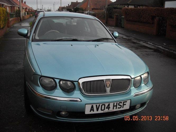 Rover 75 diesel saloon, auto