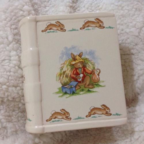 Royal Doulton bunnykins China money box