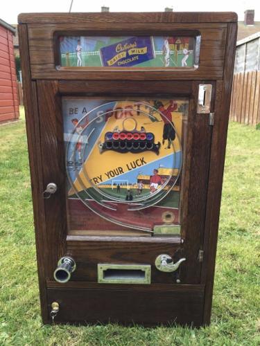 Ruffler & Walker TRY YOUR LUCK Allwin Penny Machine