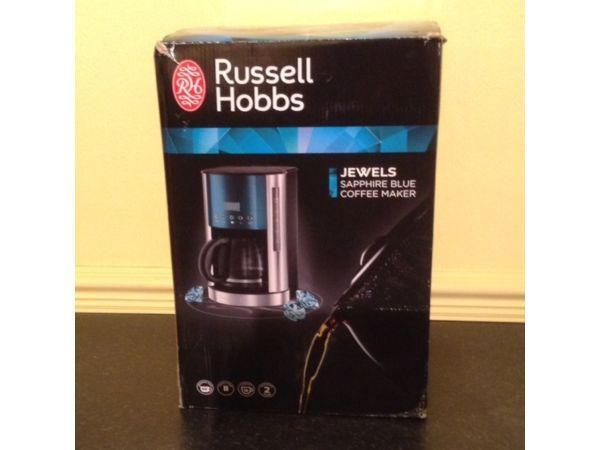 Russell Hobbs Jewels Sapphire Blue Coffee Maker